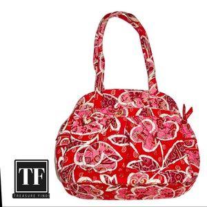 Vera Bradley Handbag Raspberry Pink Tote